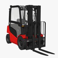 3d diesel forklift truck lift