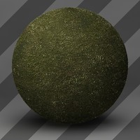 3d landscape grass model