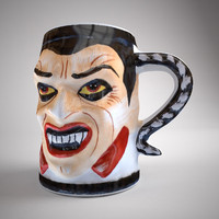 obj halloween cup dracula
