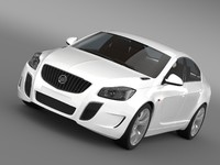 3d model buick regal gs concept