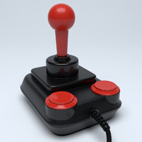 3d classic joystick competition pro model