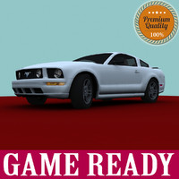 3ds max mustang ready 2005 games