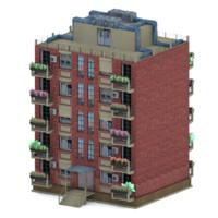 3d building 2 model
