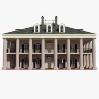 plantation house 3ds