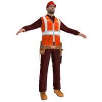 maya worker man