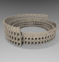3d model colosseum