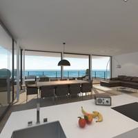 livingroom realistic 3d model