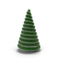 decorative christmas tree 3d max