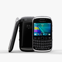 low-poly blackberry curve 9320 3d max