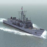 3d model general frigate polish