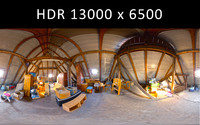 Attic Full 360 degree HDRi