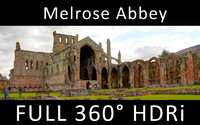 Melrose Abbey 360 degree HDR