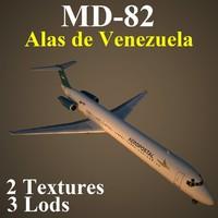 mcdonnell douglas alv 3d model