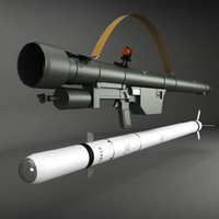3ds max sa-7 gral launcher rocket