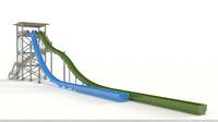 water slide max