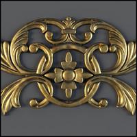 3d decorate classical model