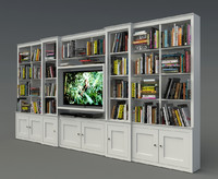 3d bookshelf book shelf
