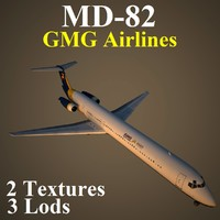 3d mcdonnell douglas gmg model