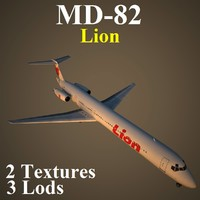 3d model of mcdonnell douglas lni