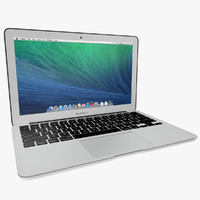 copy macbook air 2014 3d model