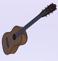 guitar obj