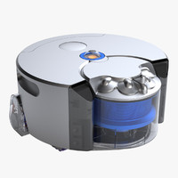 max photoreal robot vacuum cleaner