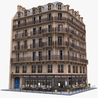 3d model france tenement