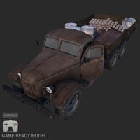 3d model of truck