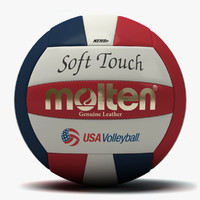 molten soft touch usa 3d model