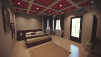 beautiful interior rendered 3d max