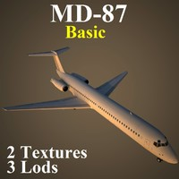 3d model of mcdonnell douglas basic