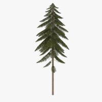 3ds pine tree