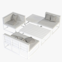 3d lounge furniture