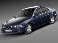 sedan bmw 2001 3d lwo