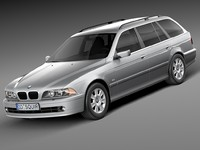 BMW 5-series e39 touring 2001