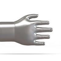 3d baby hand model