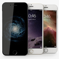 iphone 6 mobile phone 3d 3ds
