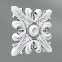 3d model classical decoration