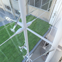 max structural glazing spider