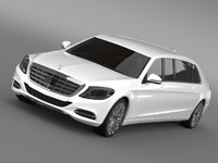 3d model mercedes benz s klasse