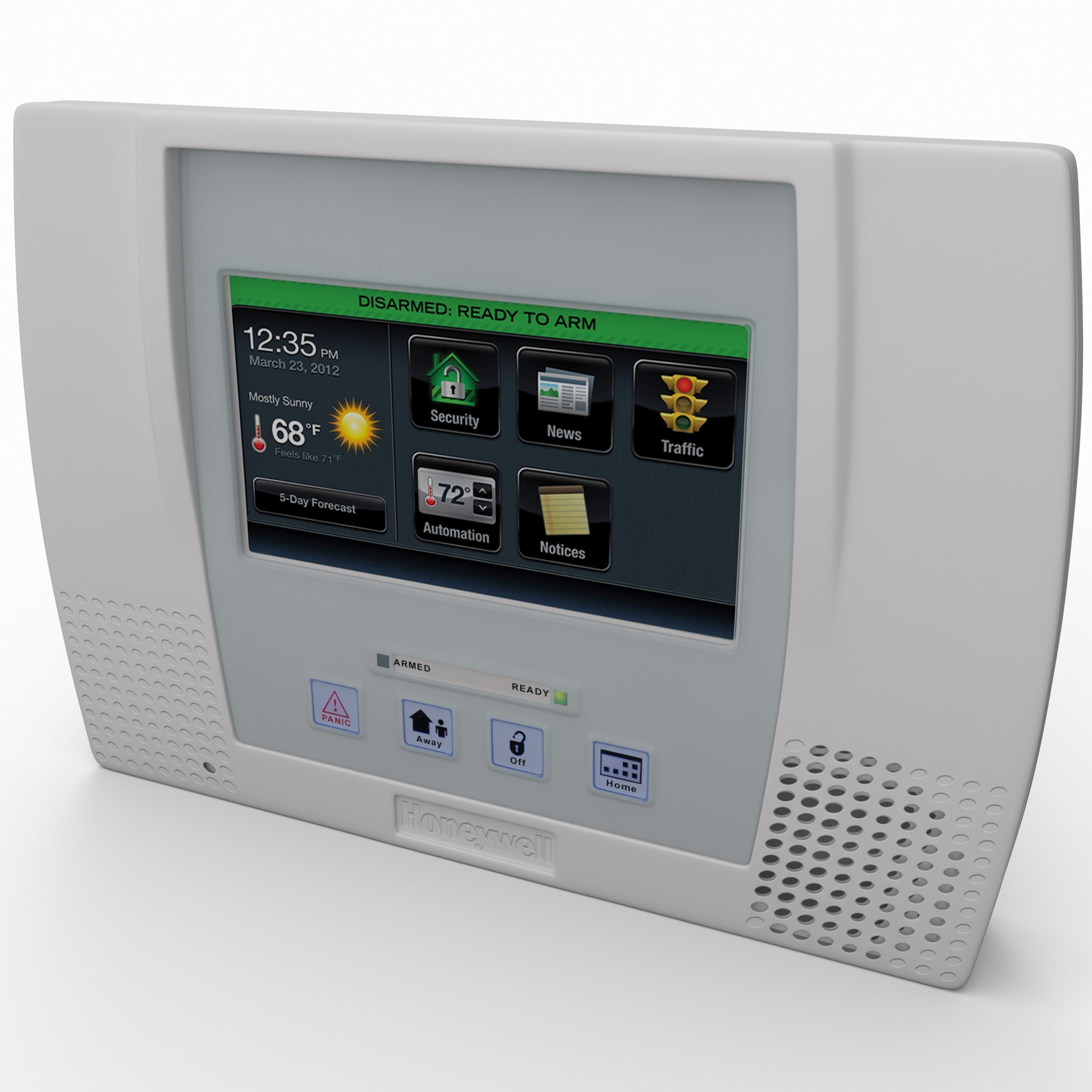 Wireless PIR Alarm System Honeywell Lynx_2.jpg