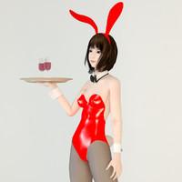 posed mariko bunny max