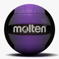 molten recreation volleyball 3 3d dxf