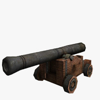 3d cannon ready pirates