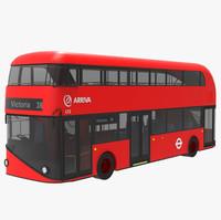 3d london bus