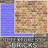 3D Textures of bricks vol.1
