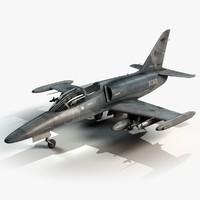 czech fighter airplane aero 3d c4d