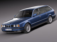 BMW 5-series e34 touring 1991