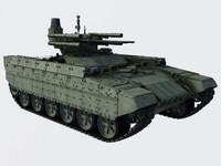 3d bmpt tank model