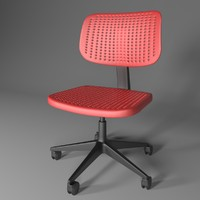 alrik ikea chair 3d max
